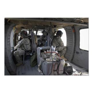 soldiers watch for hazards photo print