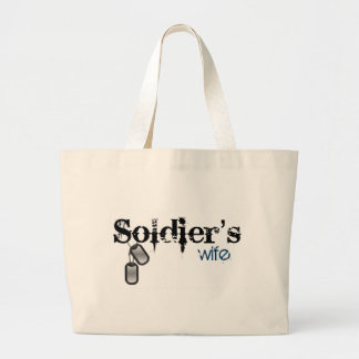 Soldier's Wife Tote Bag