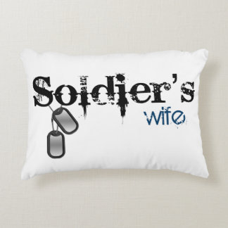Soldier's Wife Decorative Pillow