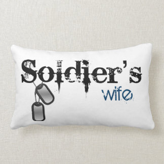 Soldier's Wife Lumbar Pillow