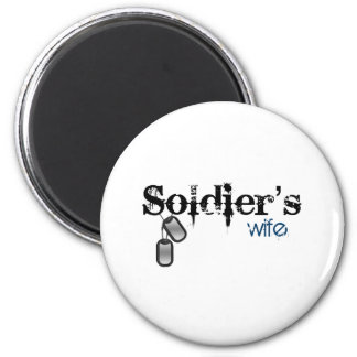 Soldier's Wife Magnet