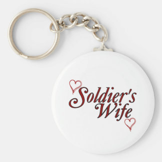 Soldier's Wife: Scribble Hearts Keychain