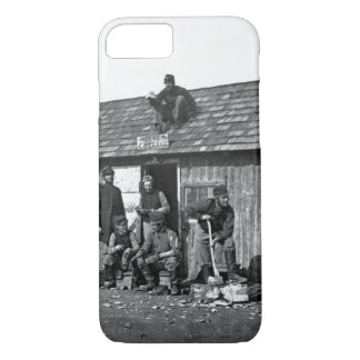 Soldiers' Winter Quarters_War Image iPhone 8/7 Case