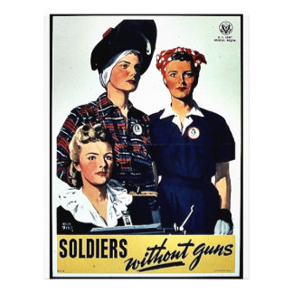 """Soldiers Without Guns 8.5"""" X 11"""" Flyer"""