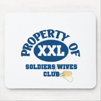 Soldiers Wives Club Mouse Pad