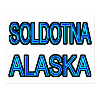 Soldotna Alaska Postcard