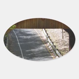 Sole Bridge Oval Sticker