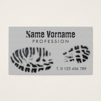 sole business card