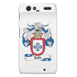 Sole Family Crest Droid RAZR Cases