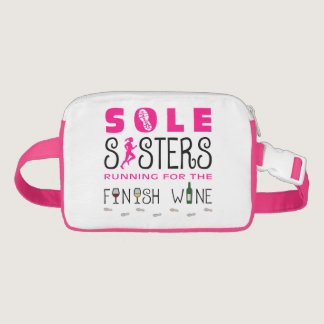 Sole Sisters Finish Wine Race Bib Belt / Fanny Pack