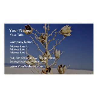 Sole survivor  flowers Double-Sided standard business cards (Pack of 100)