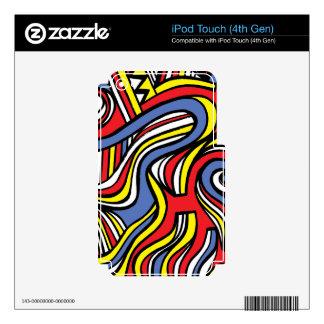 Soleado abierto victorioso seguro skins para iPod touch 4G
