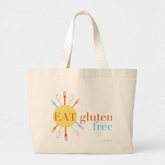 Soleado coma el gluten libre bolsa