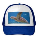Soleado la tortuga de mar - gorra del camionero