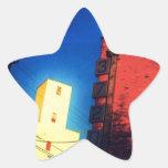 Soledad al sudoeste calcomanías forma de estrellas personalizadas