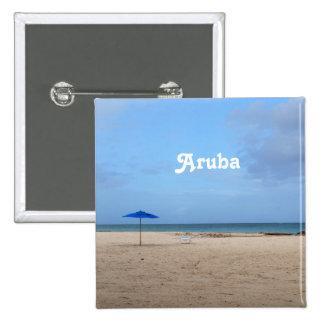 Soledad de Aruba Pin Cuadrado