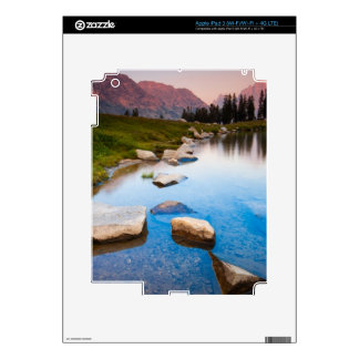 Soledad del lago iPad 3 pegatina skin