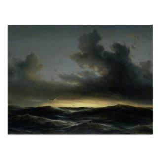 Soledad marina, 1852 postal