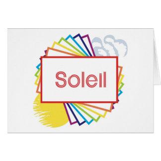 Soleil Card