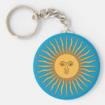 Soleil Sun Llavero Redondo Tipo Pin