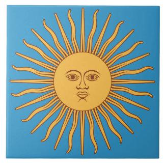 Soleil Sun Large Square Tile