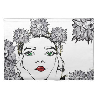 Soleil Woman Cloth Placemat