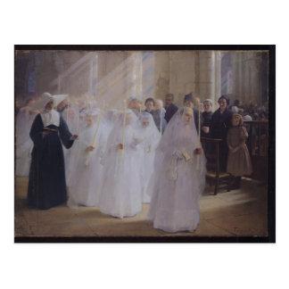 Solemn Communion Postcard