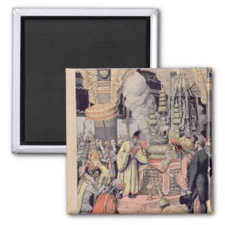 Solemn cremation of King Norodom I Magnet