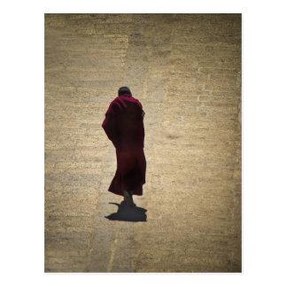 Solemn Monk Post Card