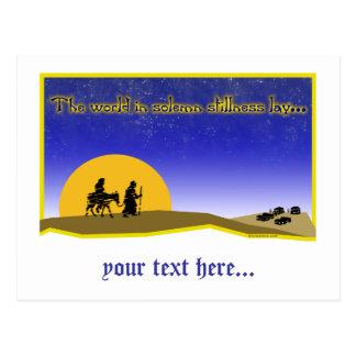 Solemn Stillness Postcard