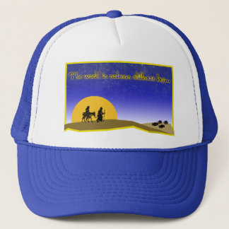 Solemn Stillness Trucker Hat