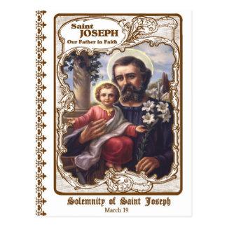 Solemnity of Saint Joseph Custom Postcard