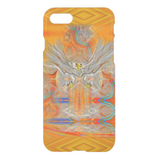 Solemnly Eagle Upswing Rising Sun iPhone Case