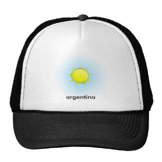 Solenoide Argentino Gorros Bordados