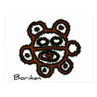 Solenoide Boriken de Taino Tarjetas Postales