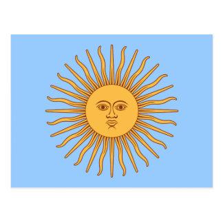 Solenoide de Mayo de la Argentina Postales