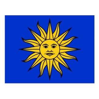 Solenoide de Mayo de Uruguay Postales