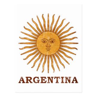 Solenoide de Mayo la Argentina Tarjeta Postal