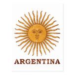 Solenoide de Mayo la Argentina Tarjetas Postales