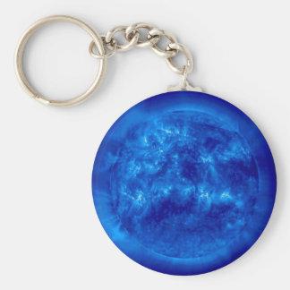 Solenoide- de Ol Sun-En la longitud de onda de BLO Llavero Redondo Tipo Pin