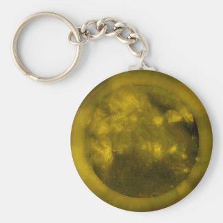 Solenoide- de Ol Sun-En la longitud de onda de YEL Llavero Redondo Tipo Pin