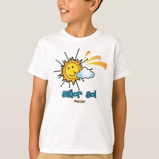 Solenoide de Señor (señor Sun) Playera