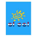 Solenoide del EL en colores de la bandera Postal