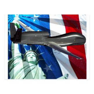 SOLENOIDE DEL UAV LOS E.E.U.U. TARJETA POSTAL