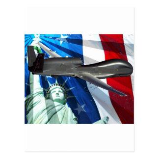 SOLENOIDE DEL UAV LOS E.E.U.U. TARJETAS POSTALES