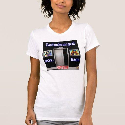 Solenoide - Rabia en usted camisa