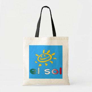 Solenoide The Sun del EL en vacaciones de verano Bolsa Tela Barata