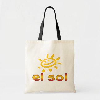 Solenoide The Sun del EL en vacaciones de verano e Bolsa Tela Barata