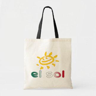 Solenoide The Sun del EL en vacaciones de verano m Bolsa Tela Barata