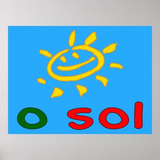 Solenoides de O - The Sun en vacaciones de verano  Póster